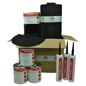 EPDM daktotaalpakket XL 1,30mm