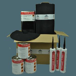 EPDM daktotaalpakket XL 1,00mm
