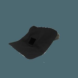 EPDM hemelwaterafvoer 60mm x 80mm 45 graden uitloop